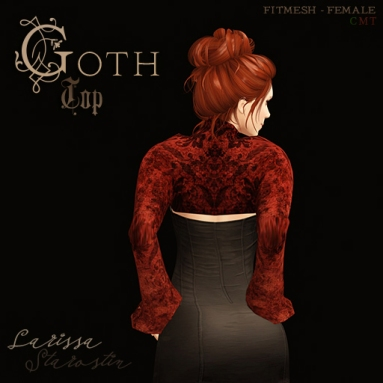 GothTop_Red